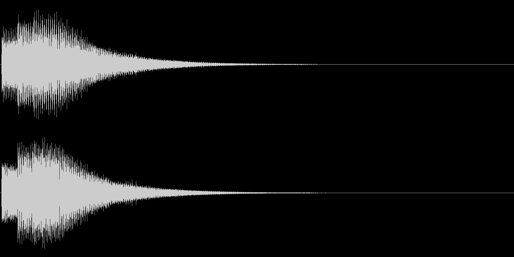 ポロリーン(電子的)の未再生の波形