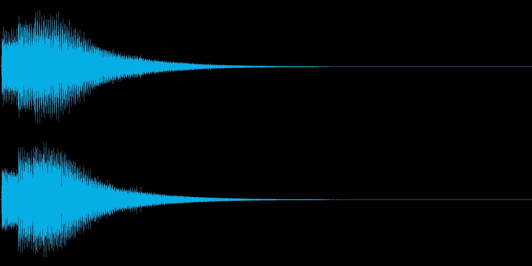 ポロリーン(電子的)の再生済みの波形