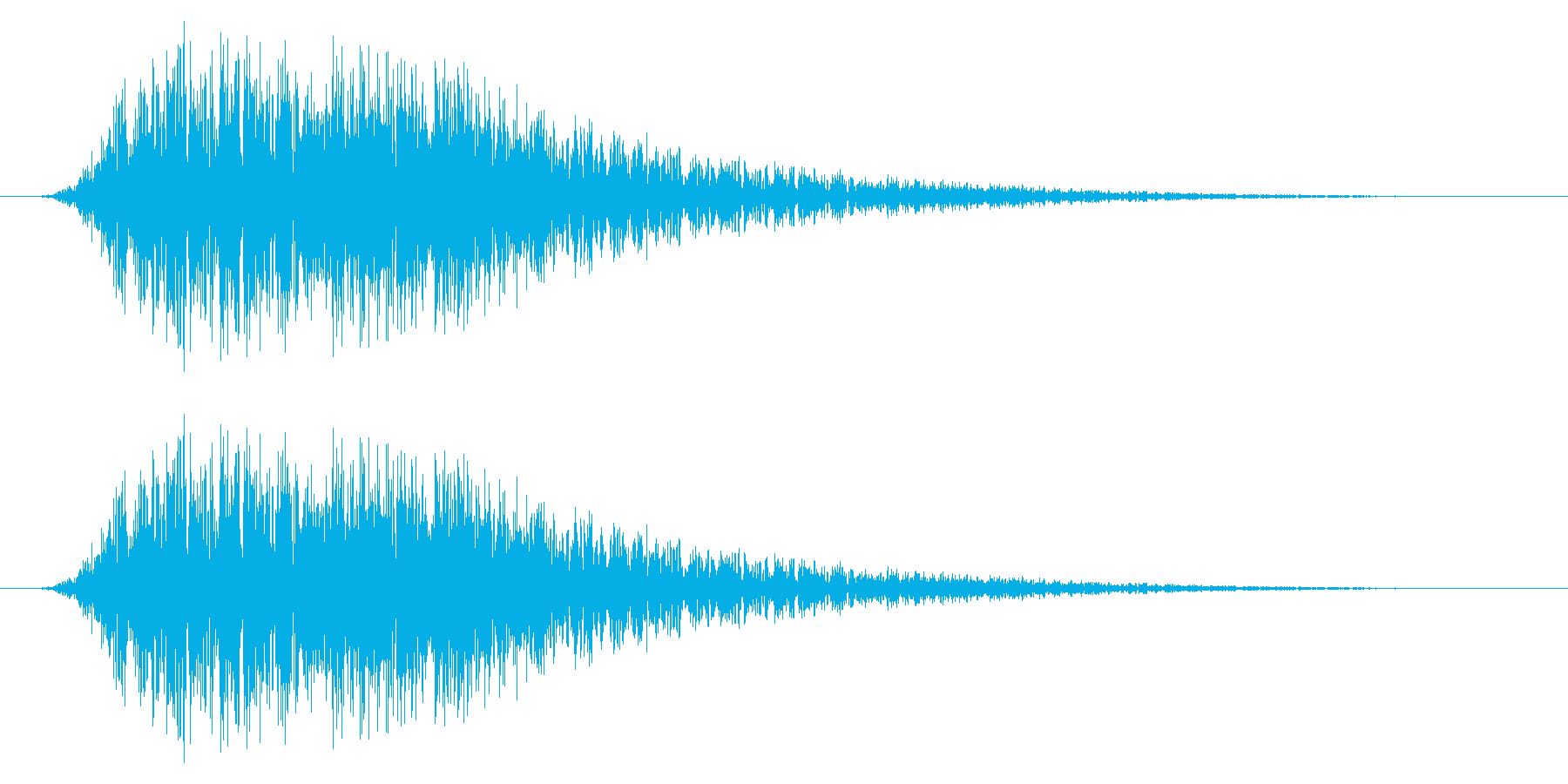 SNES 野球01-10(歓声)の再生済みの波形