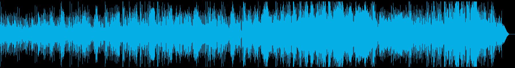洋楽フォークポップ、アニメやゲーム挿入歌の再生済みの波形