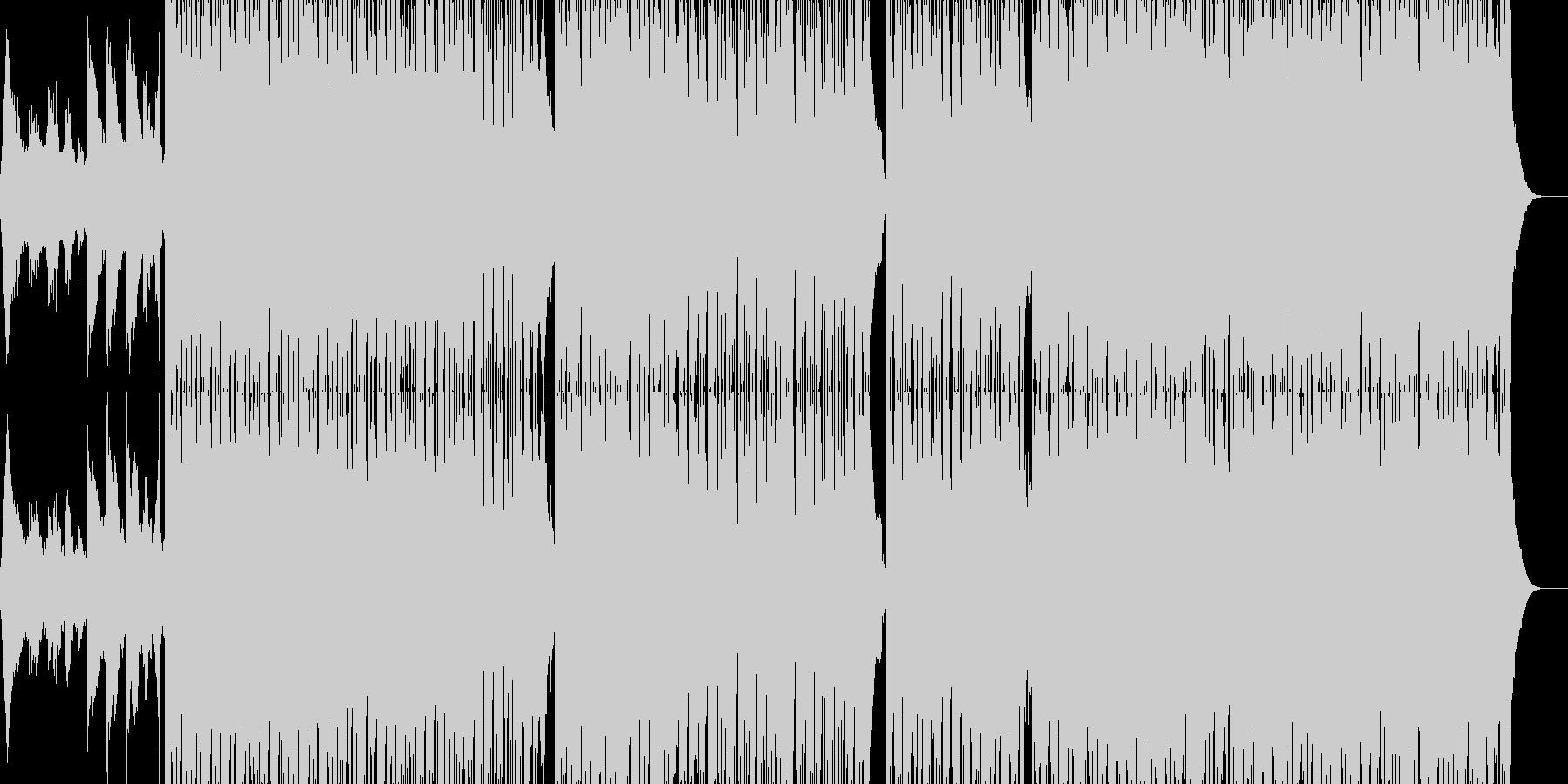 クールな雰囲気の曲です。の未再生の波形