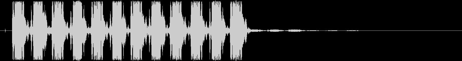 警告音-ydxの未再生の波形