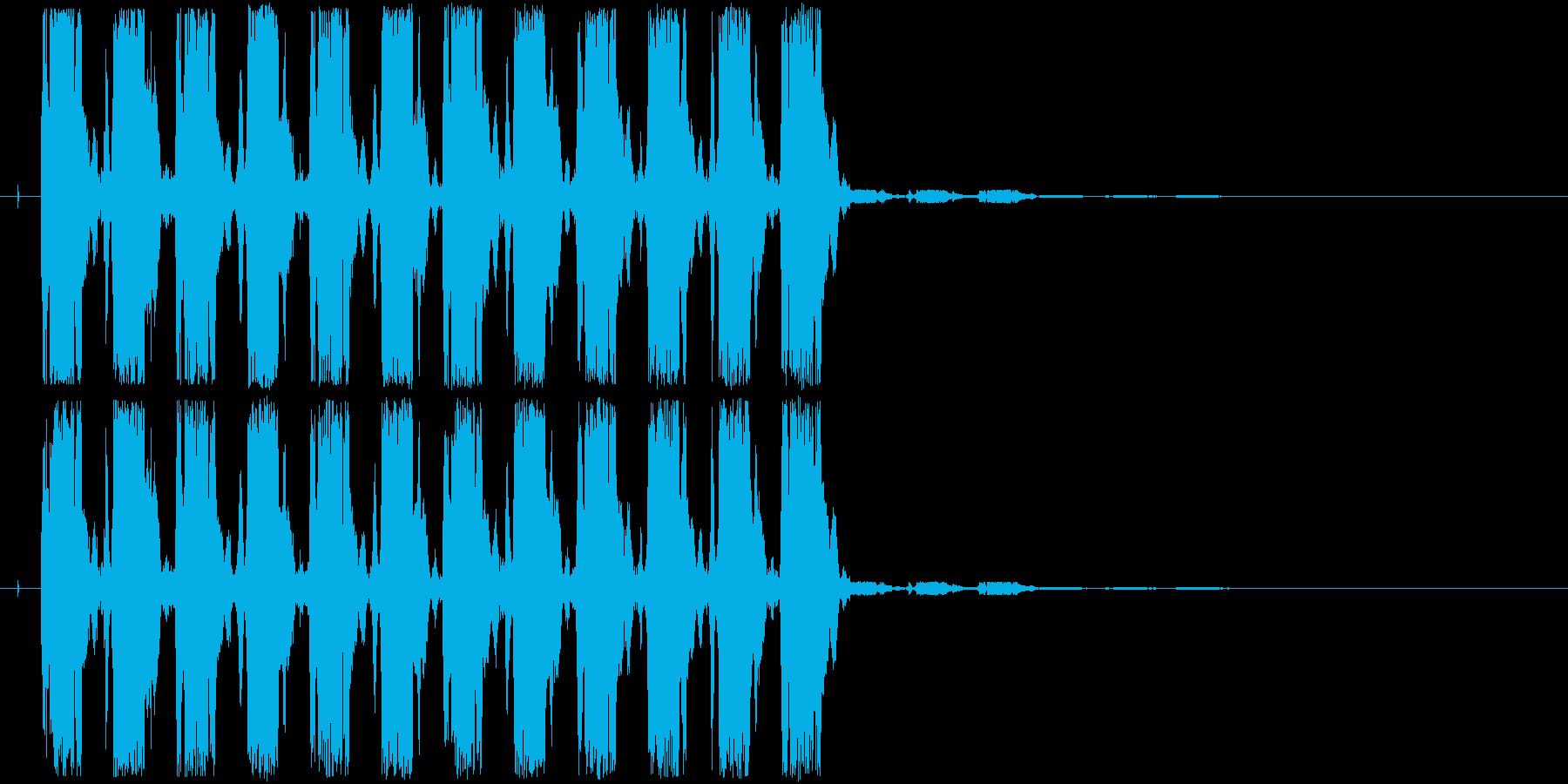 警告音-ydxの再生済みの波形
