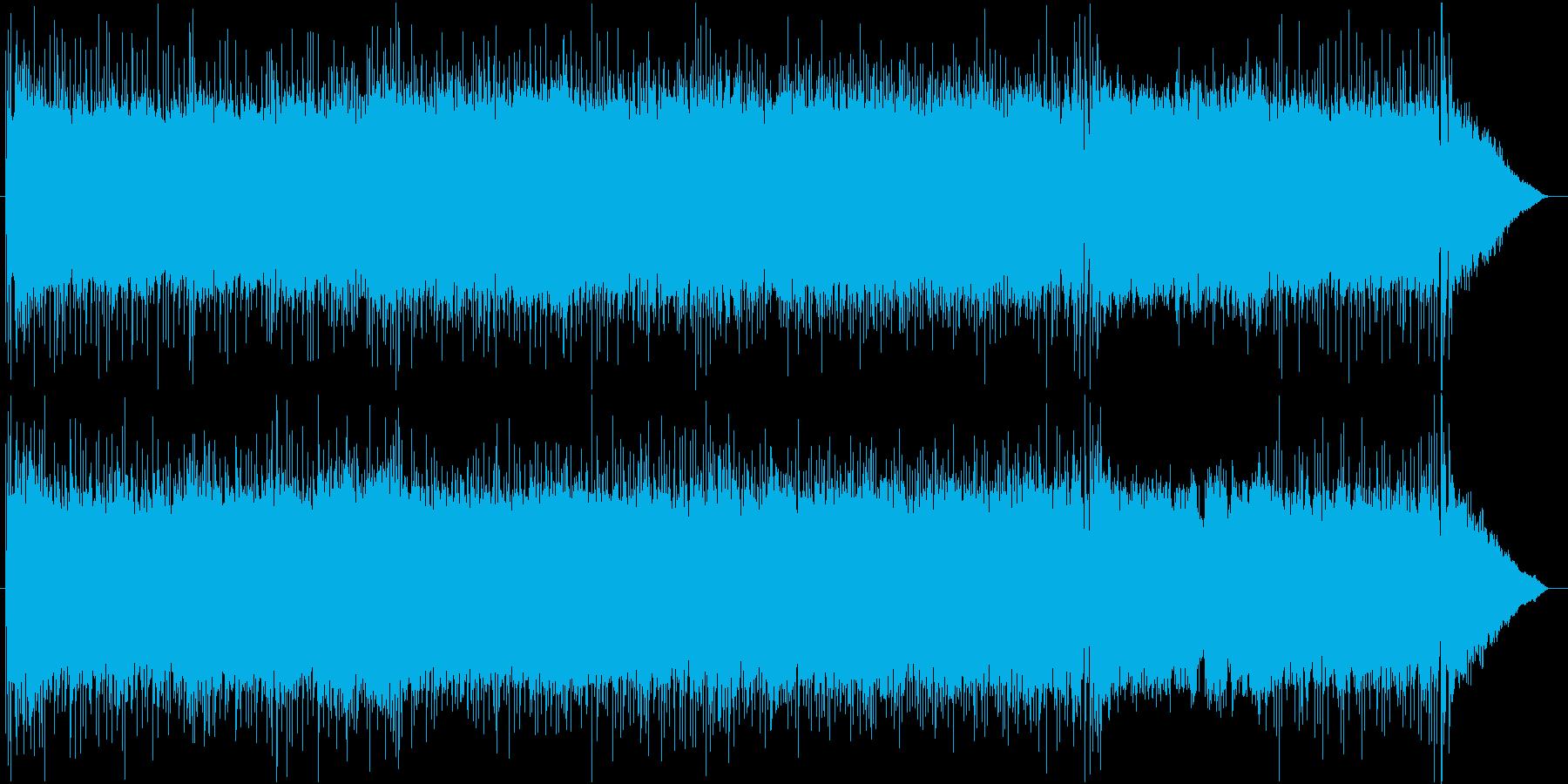 重厚で軽快なギターロック/remixの再生済みの波形