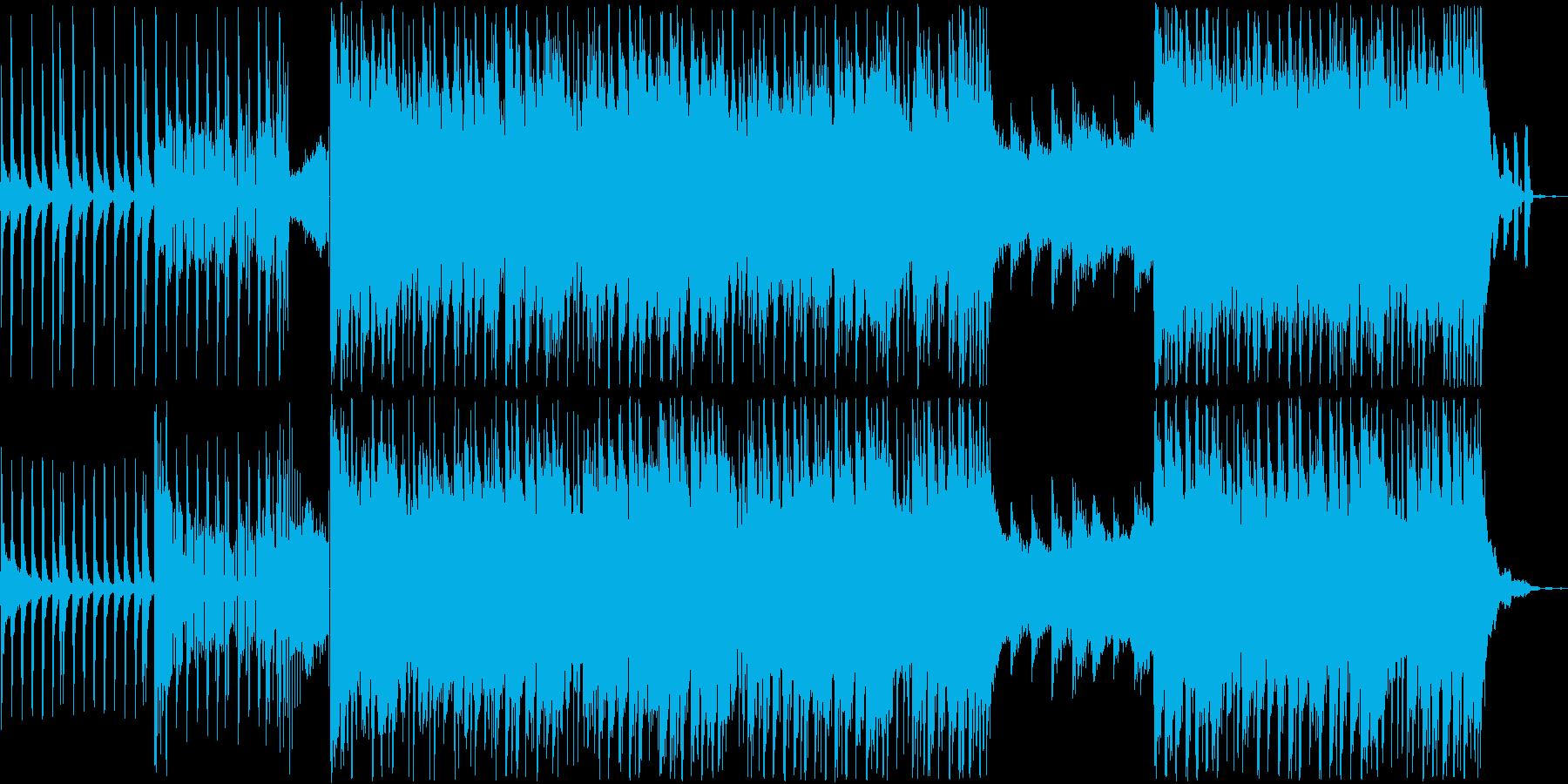 さわやかで爽快なポップな曲!の再生済みの波形