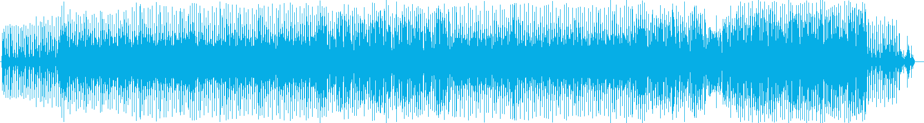 ノリのいいクールで未来的なDTMの再生済みの波形