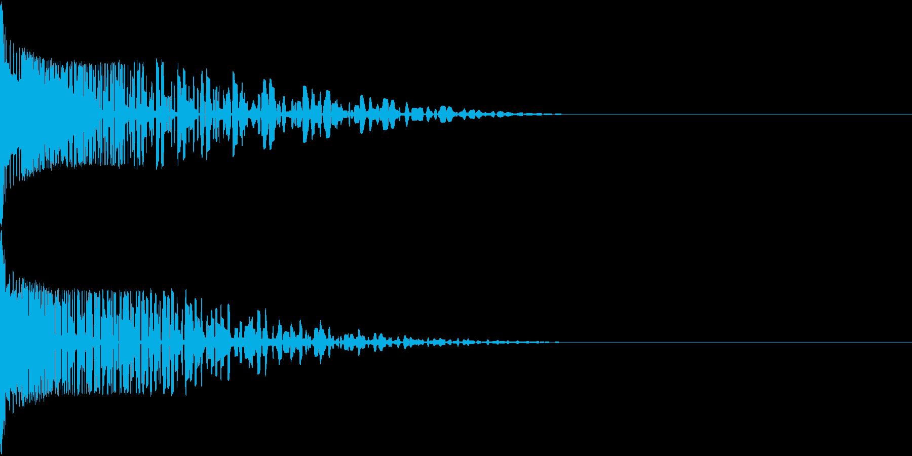 Henteko 可愛いクラッシュ音 8の再生済みの波形