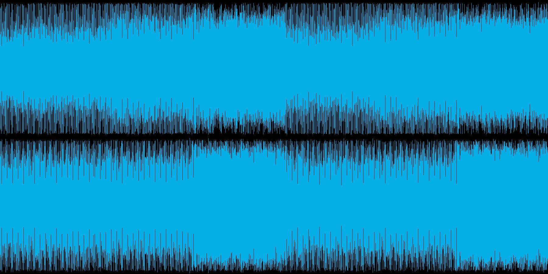 メロディ控えめの軽快なソフトロックの再生済みの波形