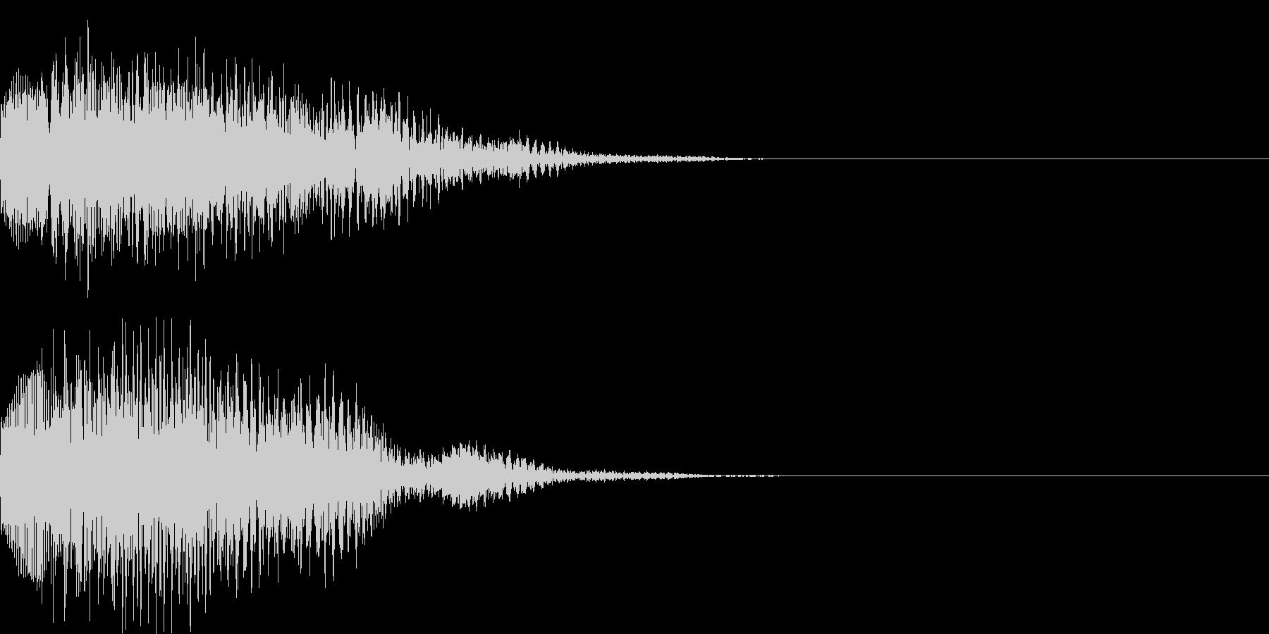 システム音46の未再生の波形