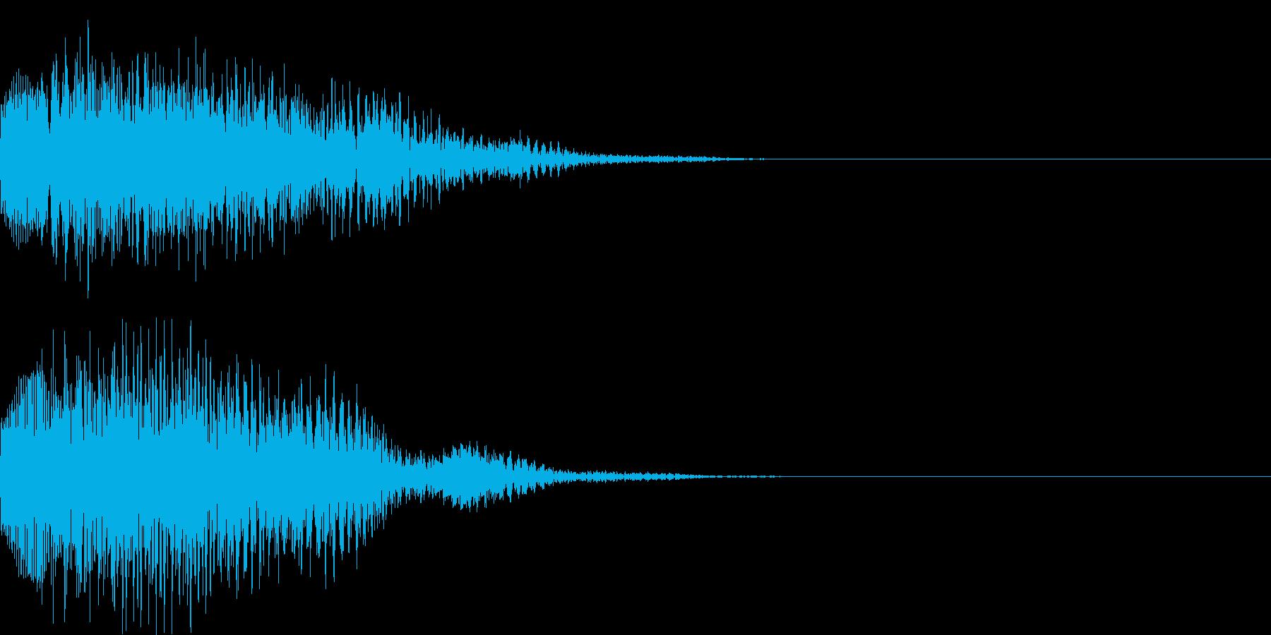 システム音46の再生済みの波形
