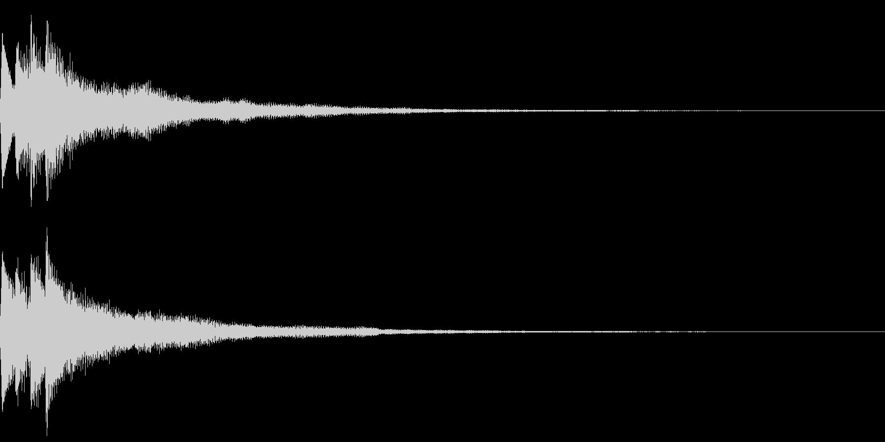 キラキラ キランなアタック音5の未再生の波形
