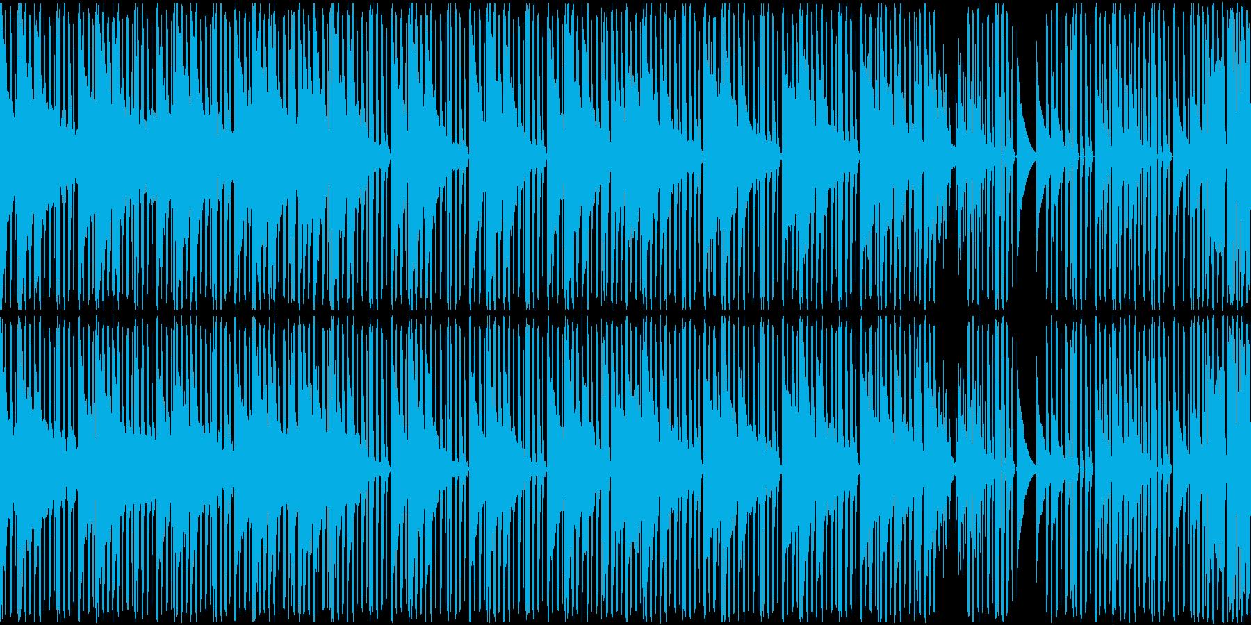 HIPHOP R&B 海 海岸 車 LPの再生済みの波形