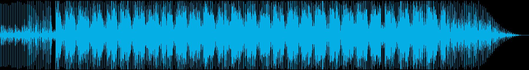 アフリカの楽器を使用したノリノリダンス系の再生済みの波形