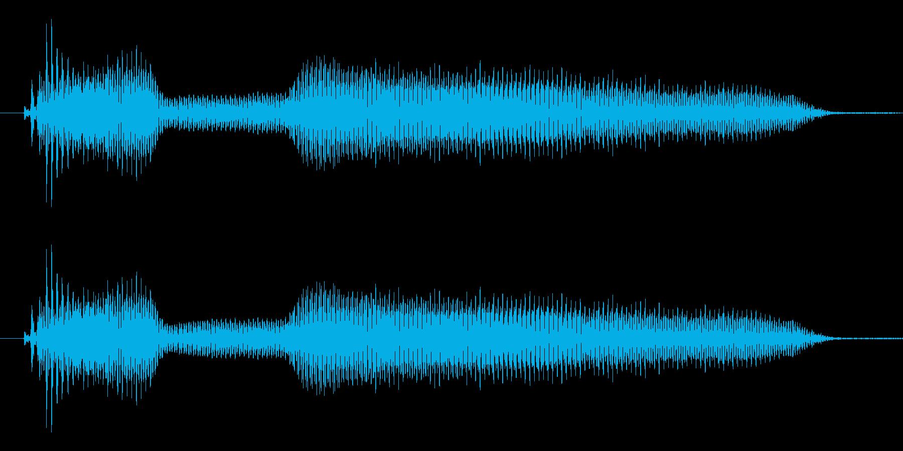 あのぉ......の再生済みの波形