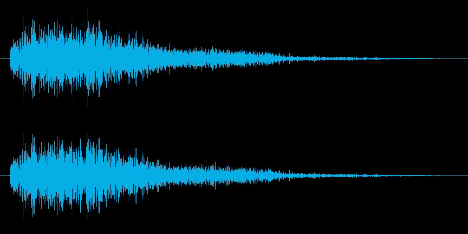電子音 パラノイアの再生済みの波形