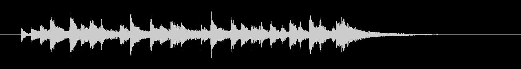 チャララチャンチャン(陽気なウクレレ)の未再生の波形