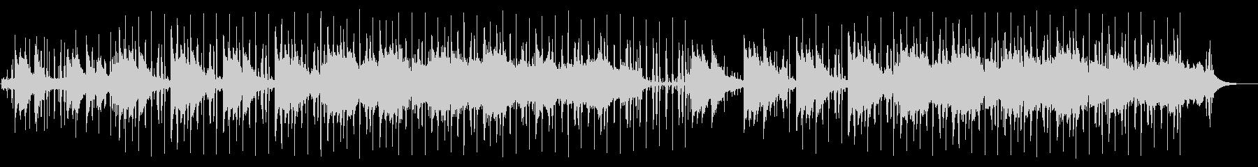 ヒップホップ系アシッドジャズの未再生の波形