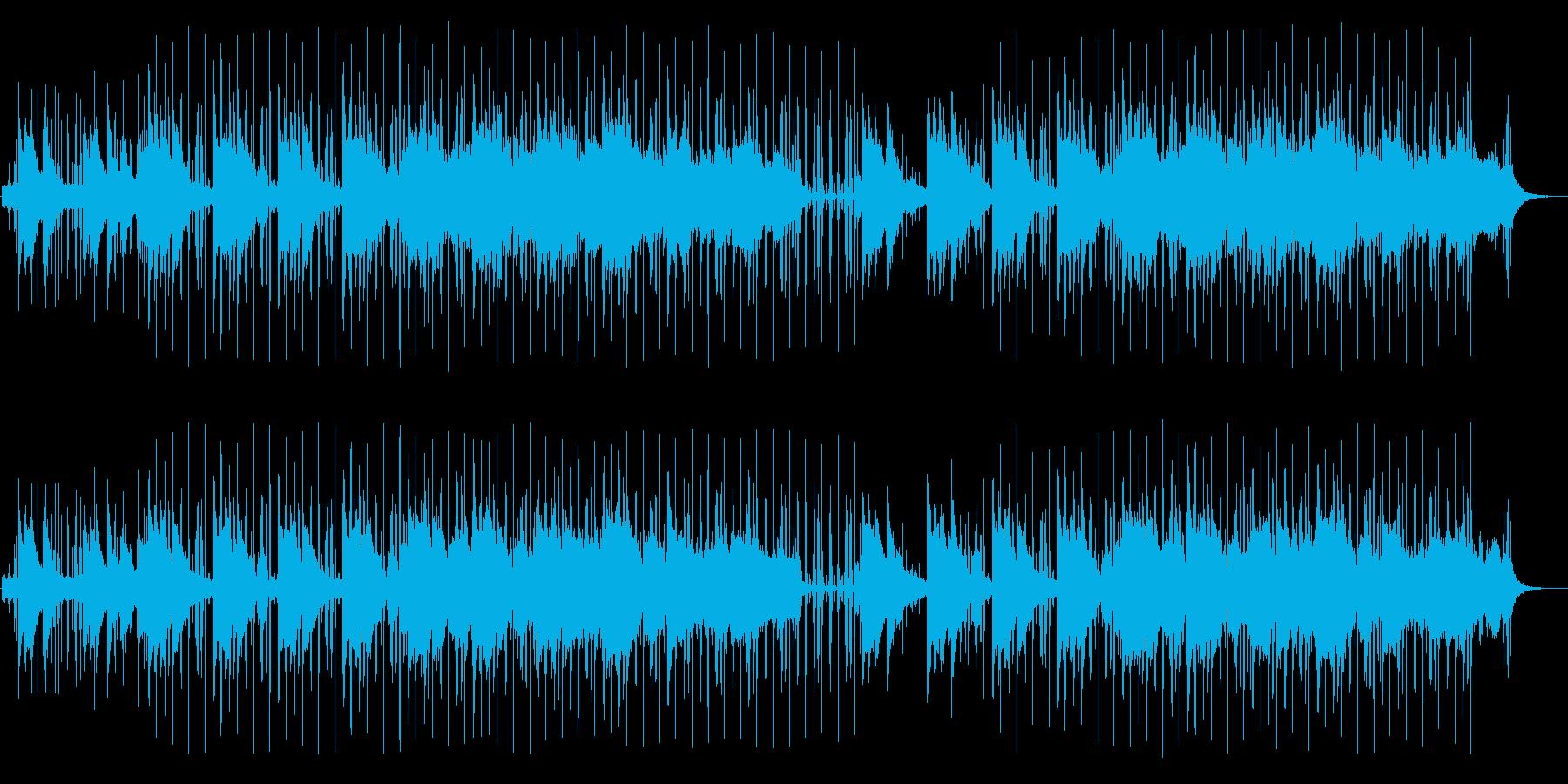 ヒップホップ系アシッドジャズの再生済みの波形