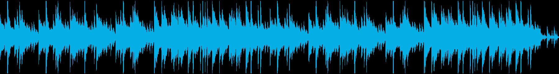 ループ 夏の昼間 ポップ風の再生済みの波形