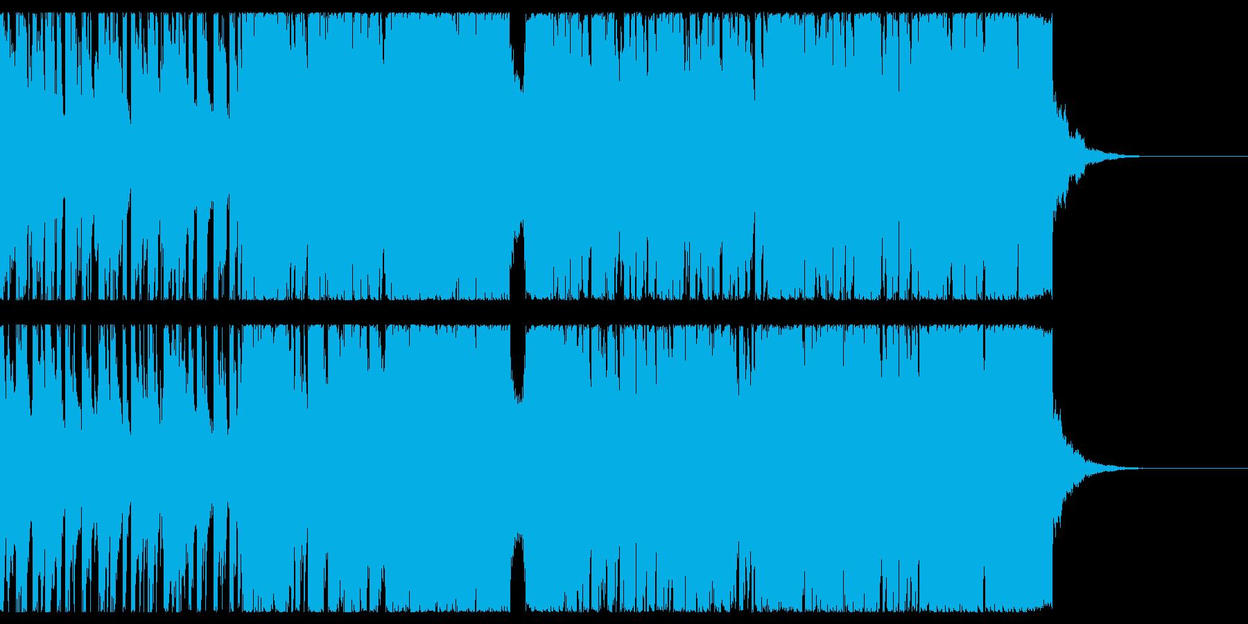 アップテンポのノリの良い曲ですの再生済みの波形