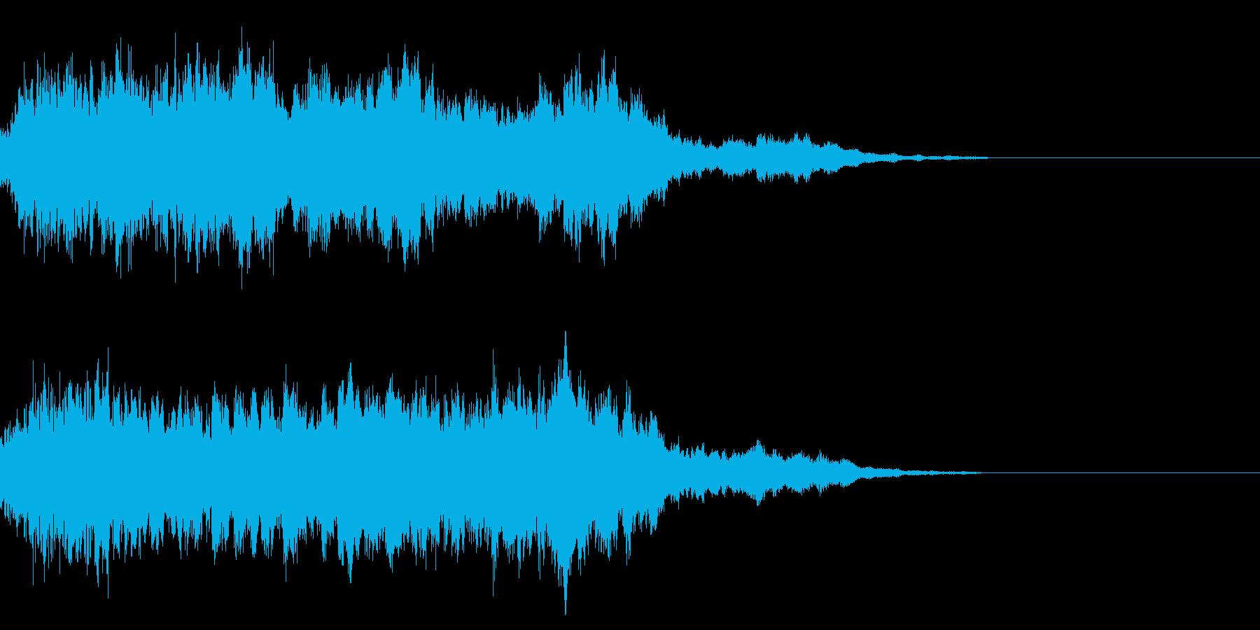 シュイーン(魔法エフェクト発動)の再生済みの波形