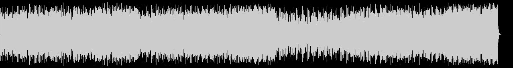 前進する力強いポップ(フルサイズ)の未再生の波形