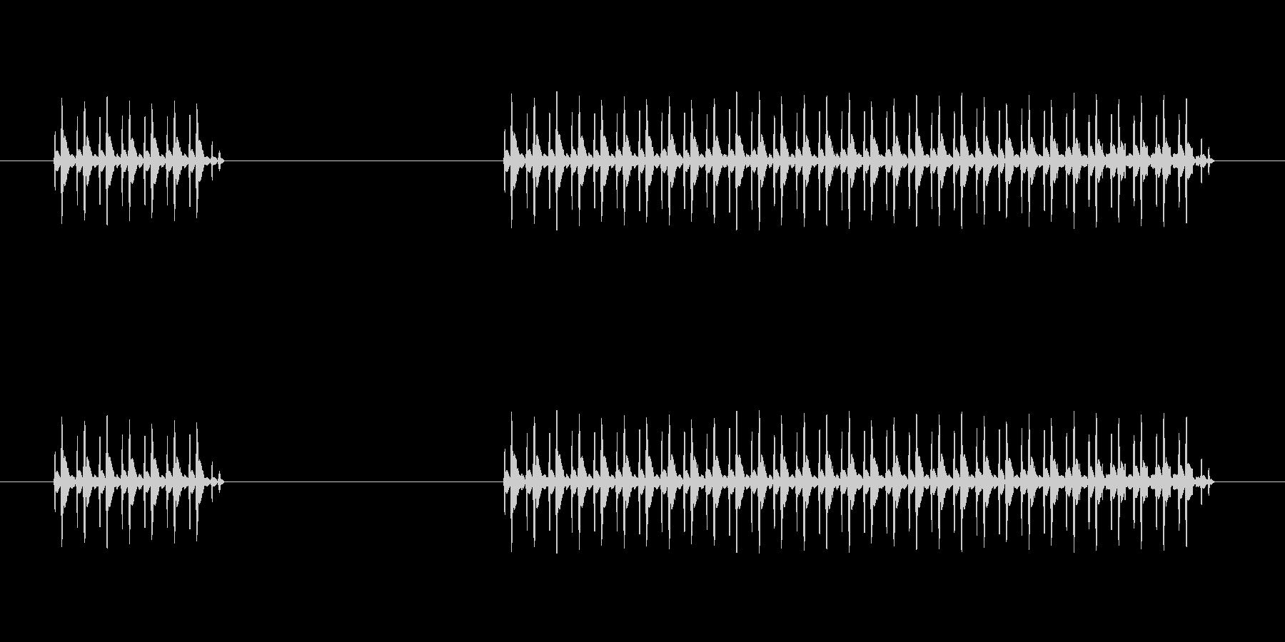 ゲーム、クイズ(ブー音)_004の未再生の波形