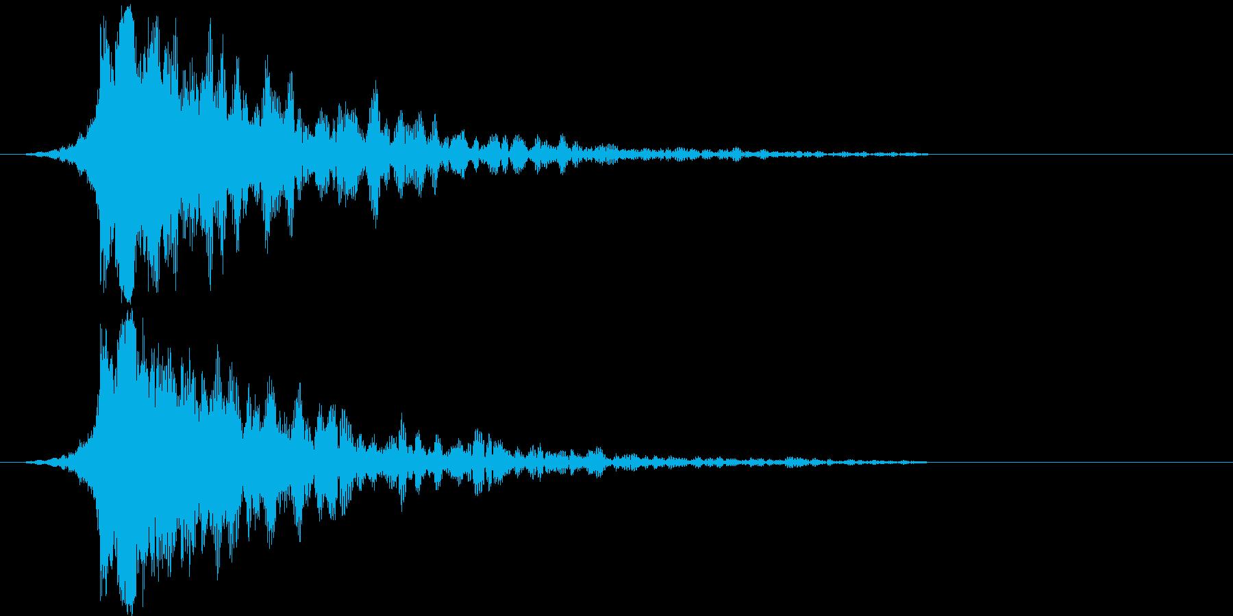 シャキーン!ド派手なインパクトに最適!6の再生済みの波形