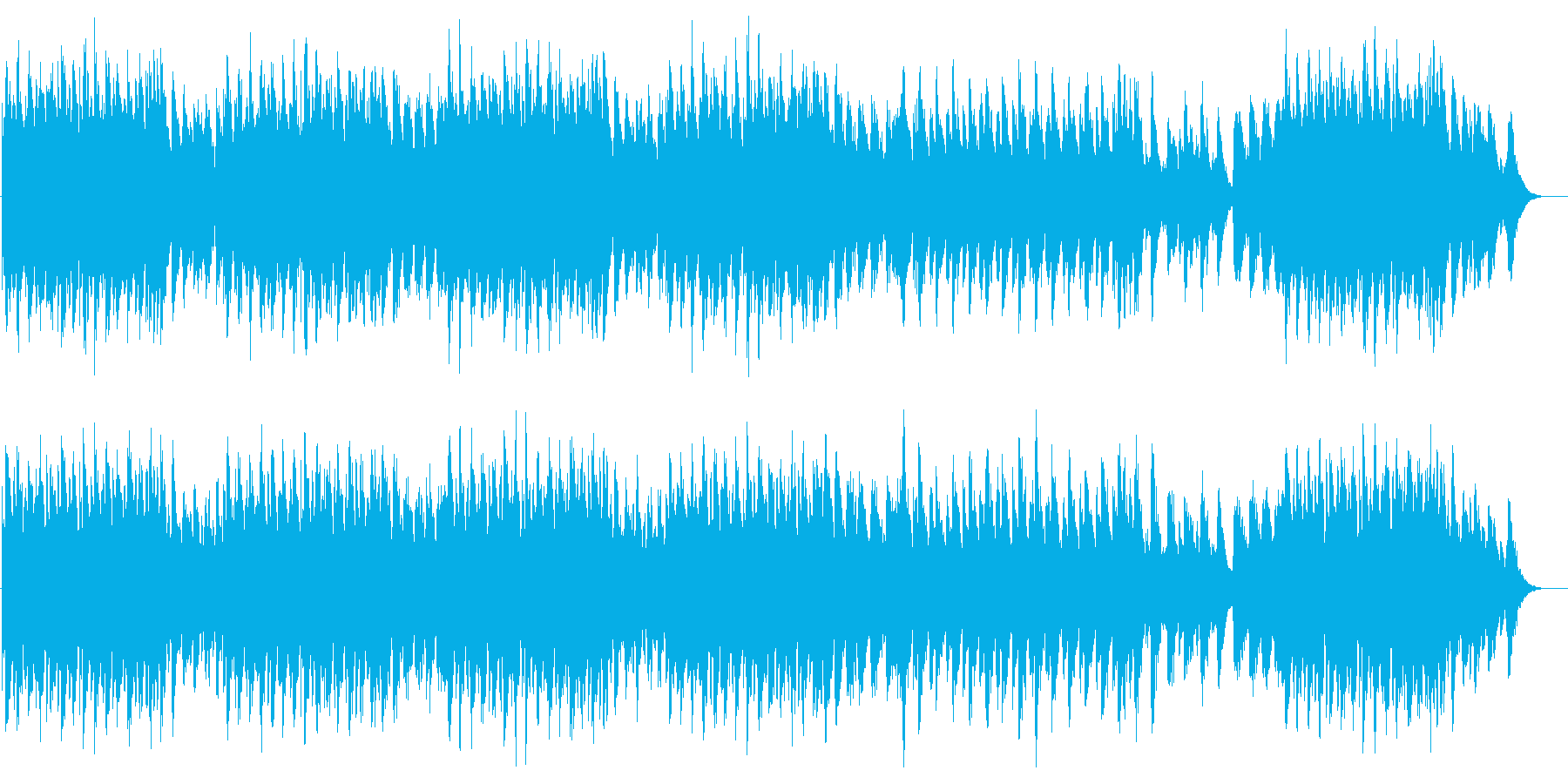 三隻の船 crystalの再生済みの波形