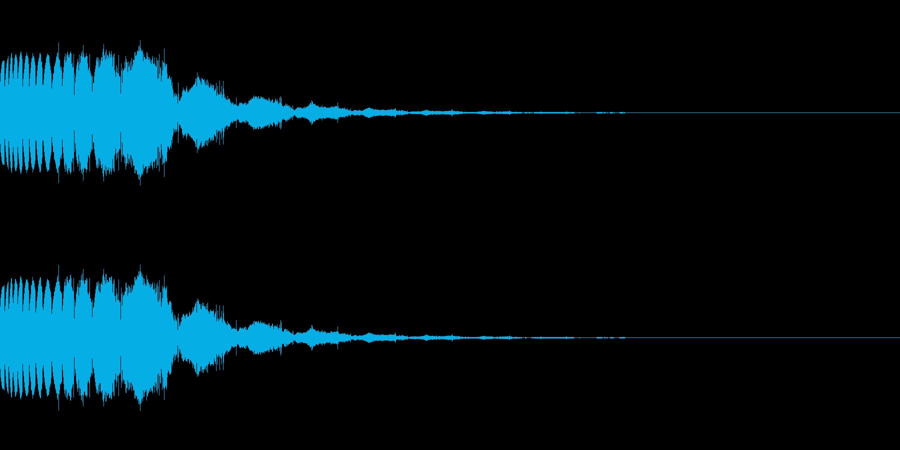 楽曲制作で使える飛び道具です。の再生済みの波形