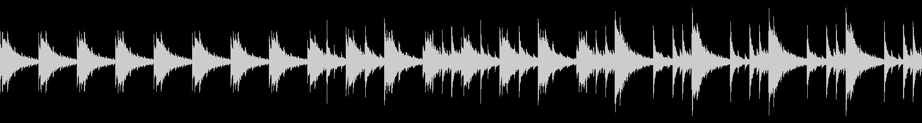 切ないピアノ楽曲3(ループ仕様)の未再生の波形