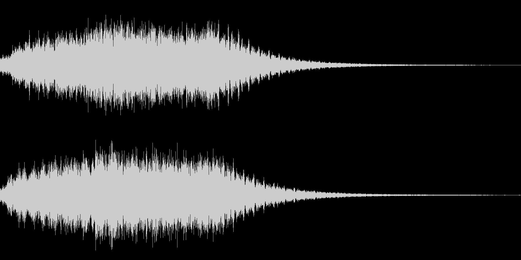ダークファンタジーサウンドの未再生の波形