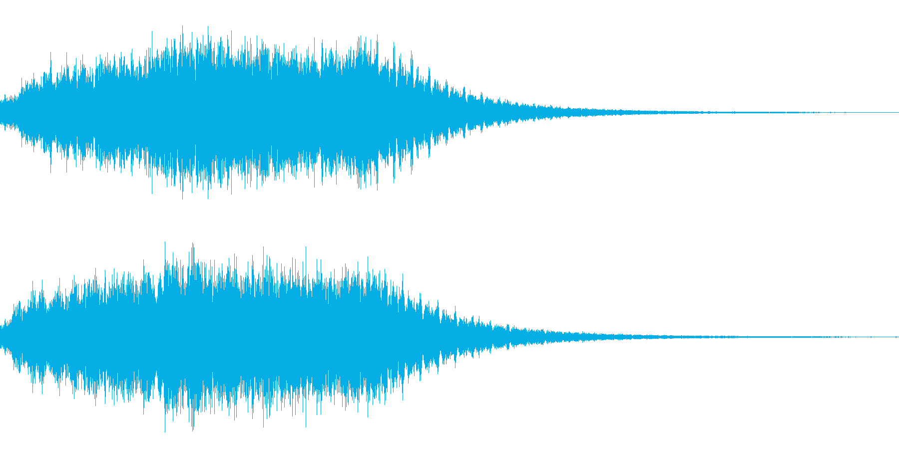 ダークファンタジーサウンドの再生済みの波形
