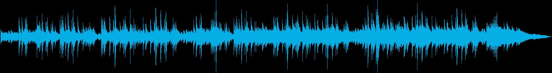 ギターデュオによる穏やかで切ないバラードの再生済みの波形
