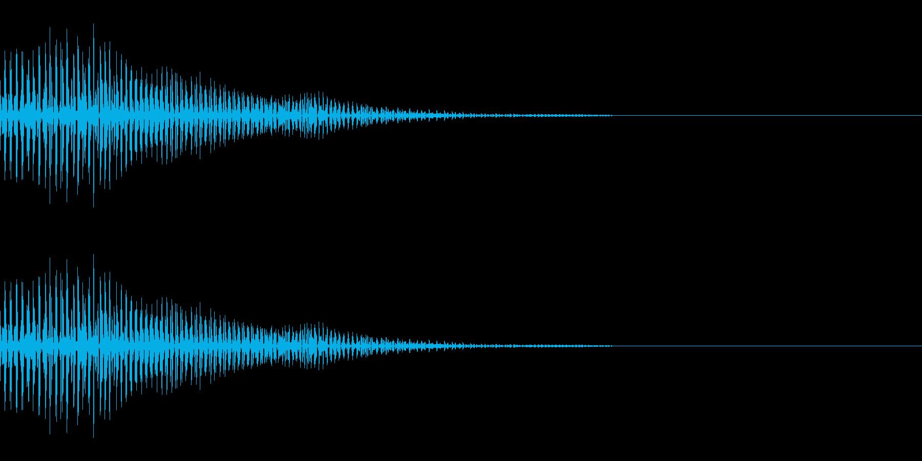 ぽいっ(ジャンプ/かわいい/ポップ)の再生済みの波形