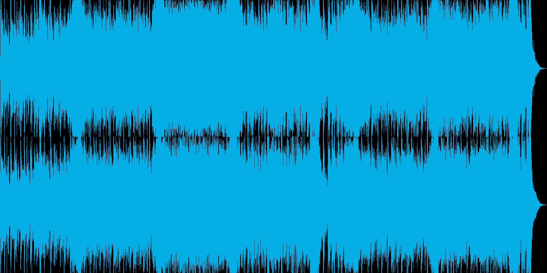 映画・ゲーム用バトルBGM27の再生済みの波形