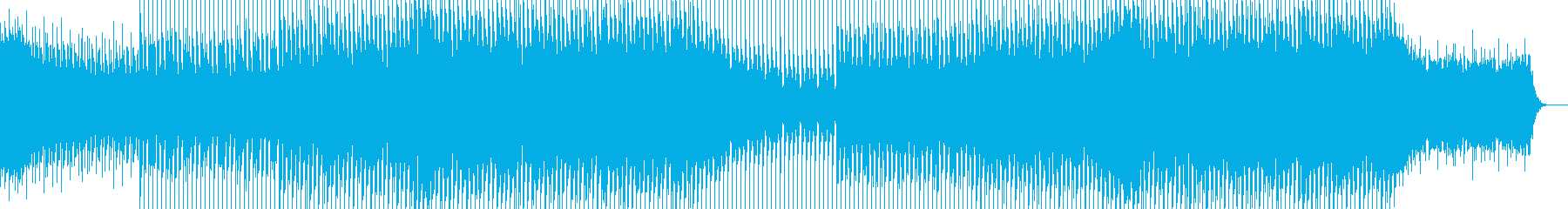 EDMポップで明るいクラブ系-16の再生済みの波形