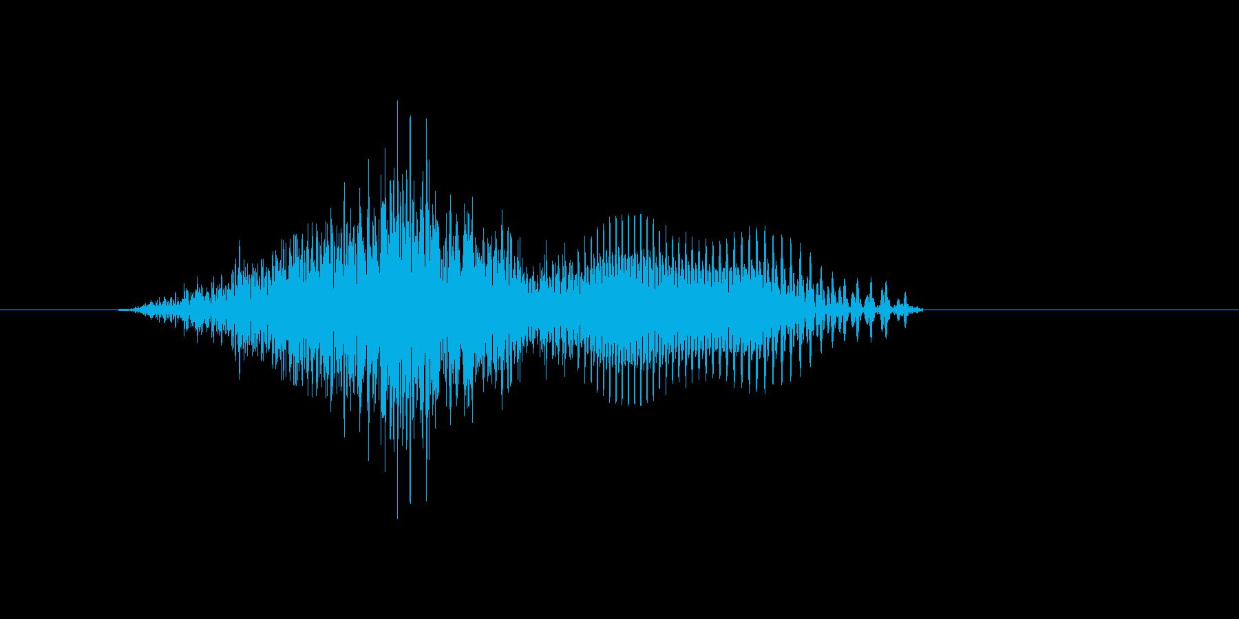 c,C,C(シー)の再生済みの波形