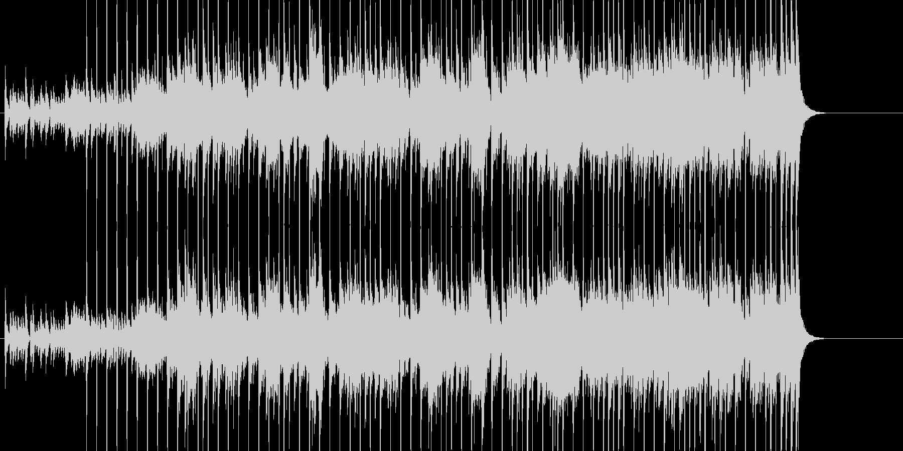 80年代っぽいシンセによるホラーの未再生の波形