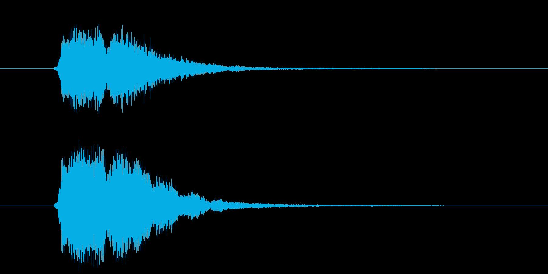 アジアンテイスト(導入)の再生済みの波形