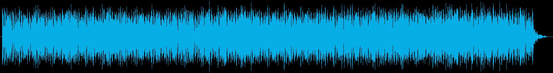 ピアノメインのハウスグルーブの再生済みの波形