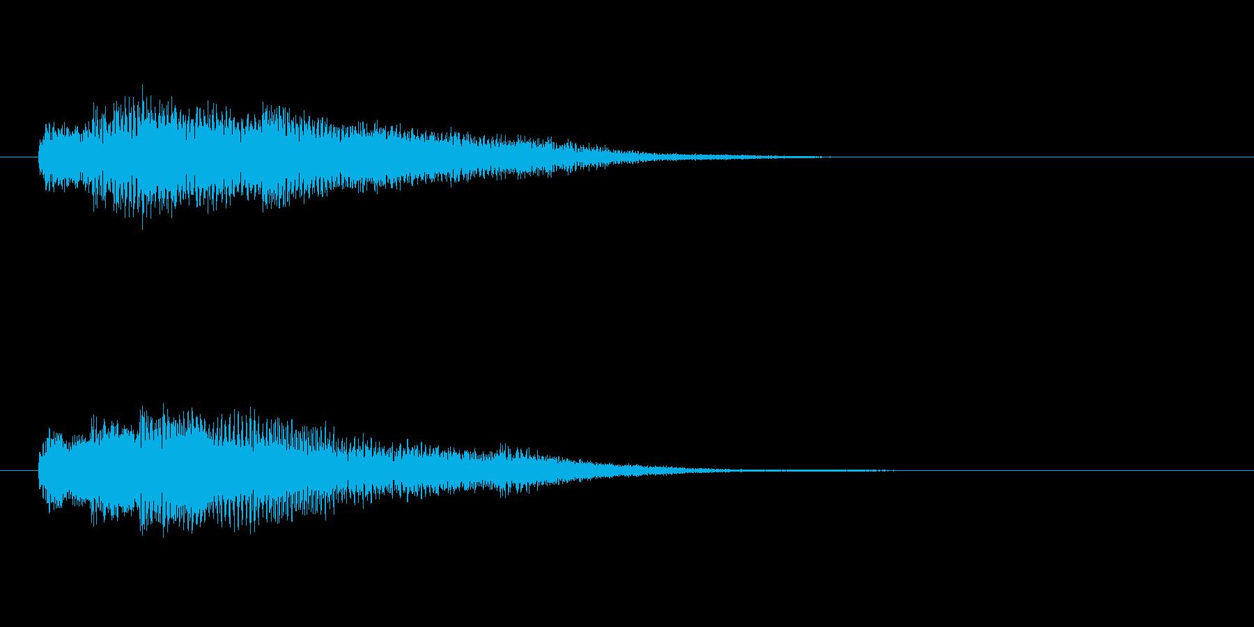 ジングル・サウンドロゴ等に。さわやか系の再生済みの波形
