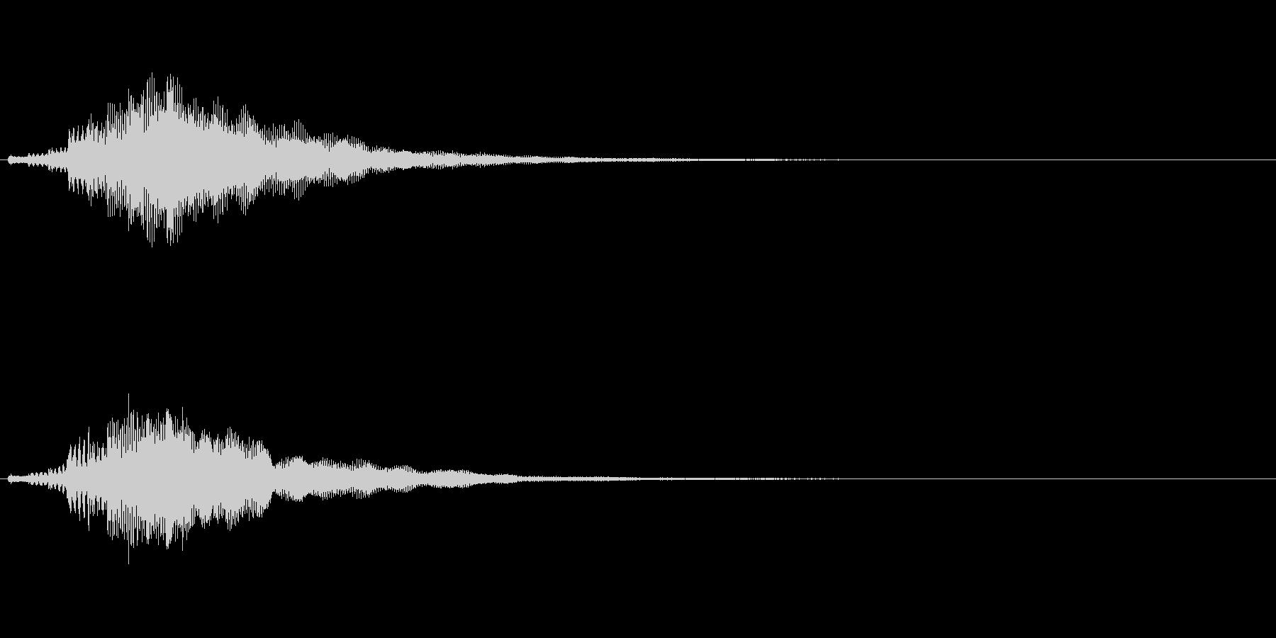 【ショートブリッジ07-1】の未再生の波形