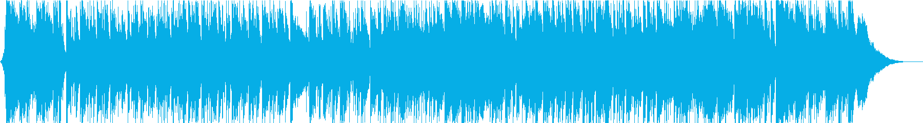 エレガントな雰囲気のボッサポップインストの再生済みの波形