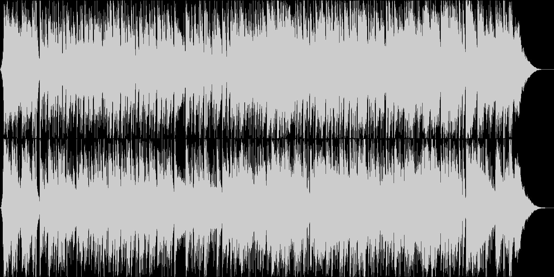 エレガントな雰囲気のボッサポップインストの未再生の波形