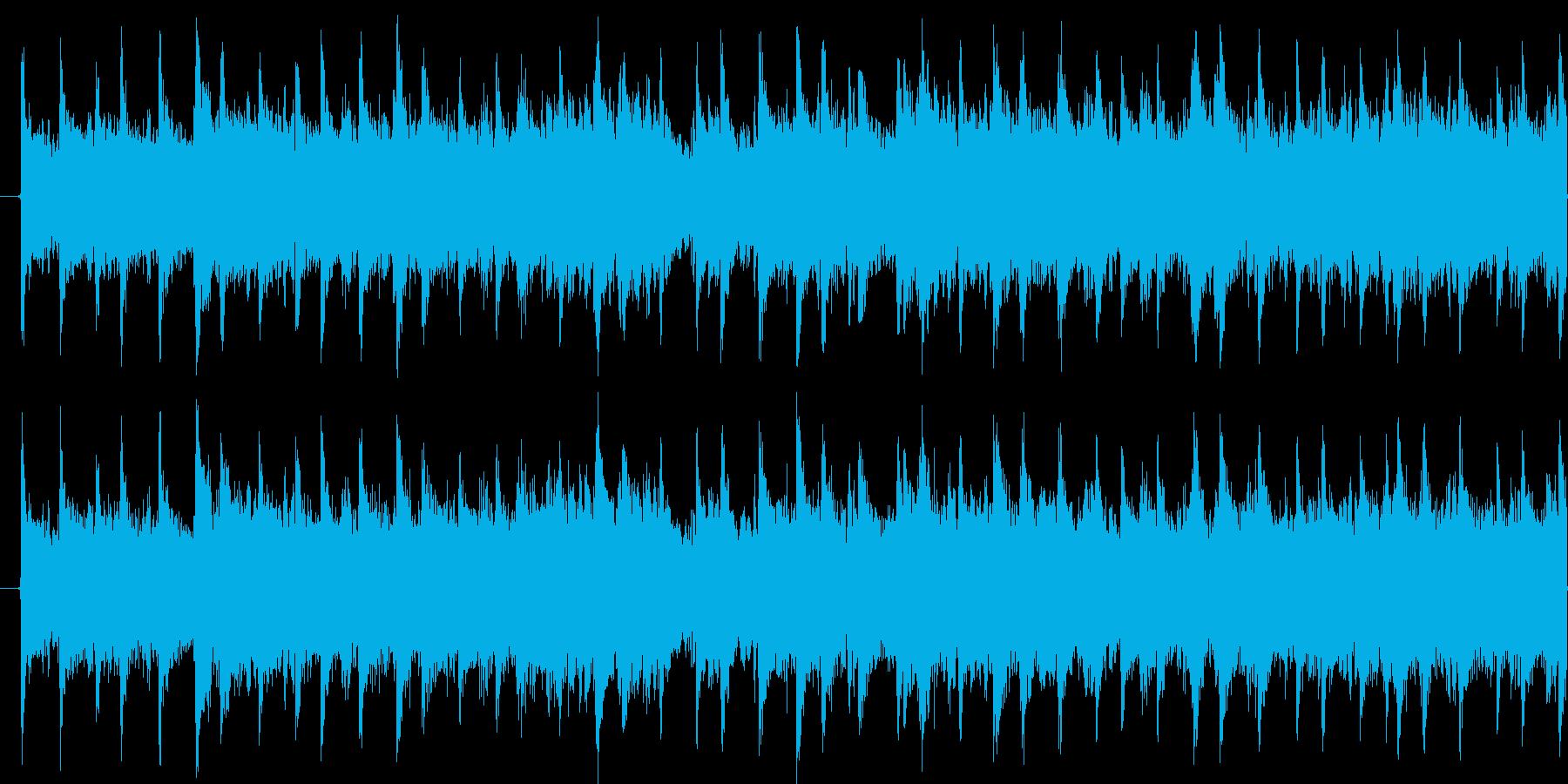 水がはねたり、波紋が広がる様子を表現の再生済みの波形