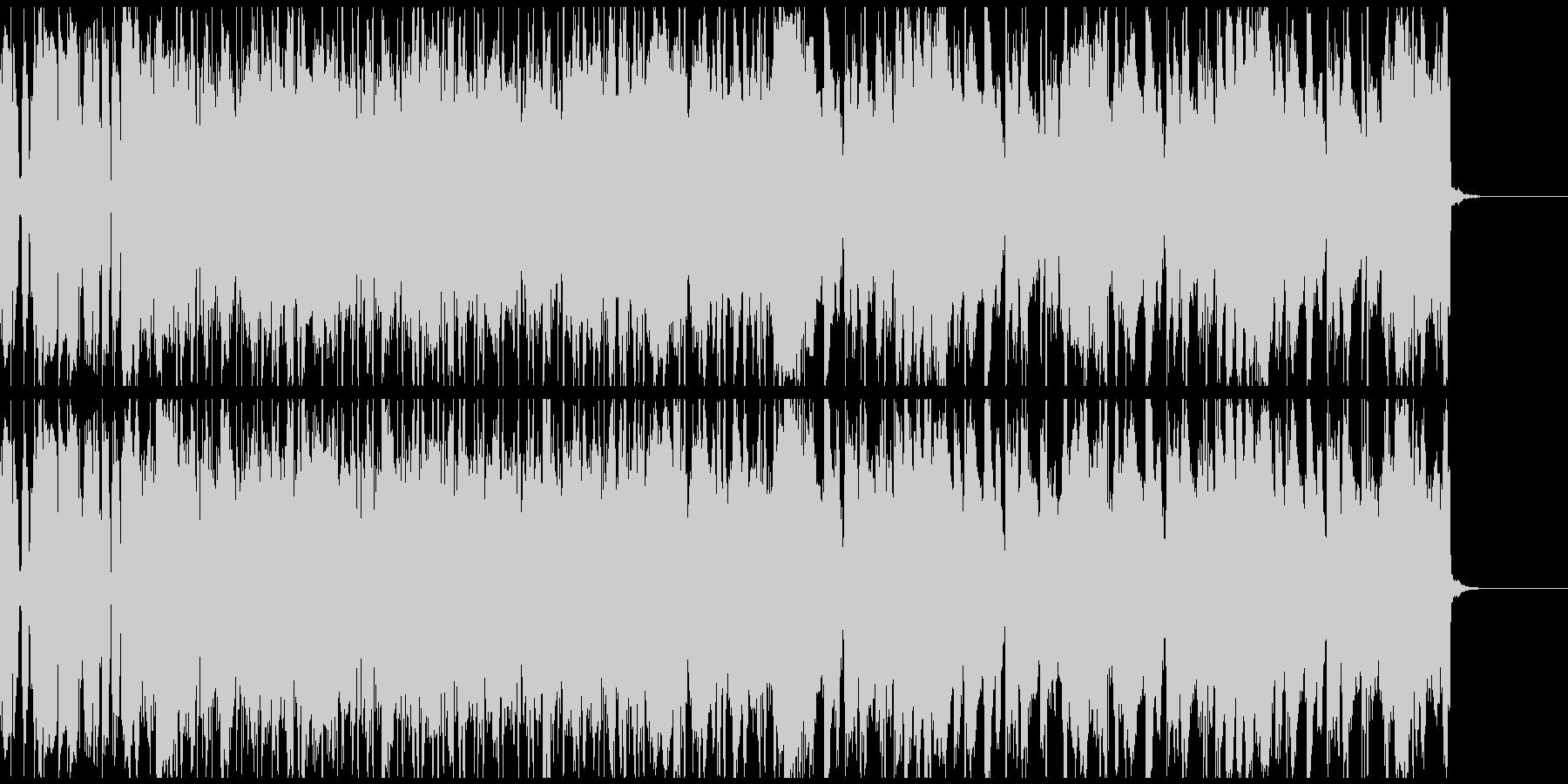 フュージョン感があるポストロック系BGMの未再生の波形