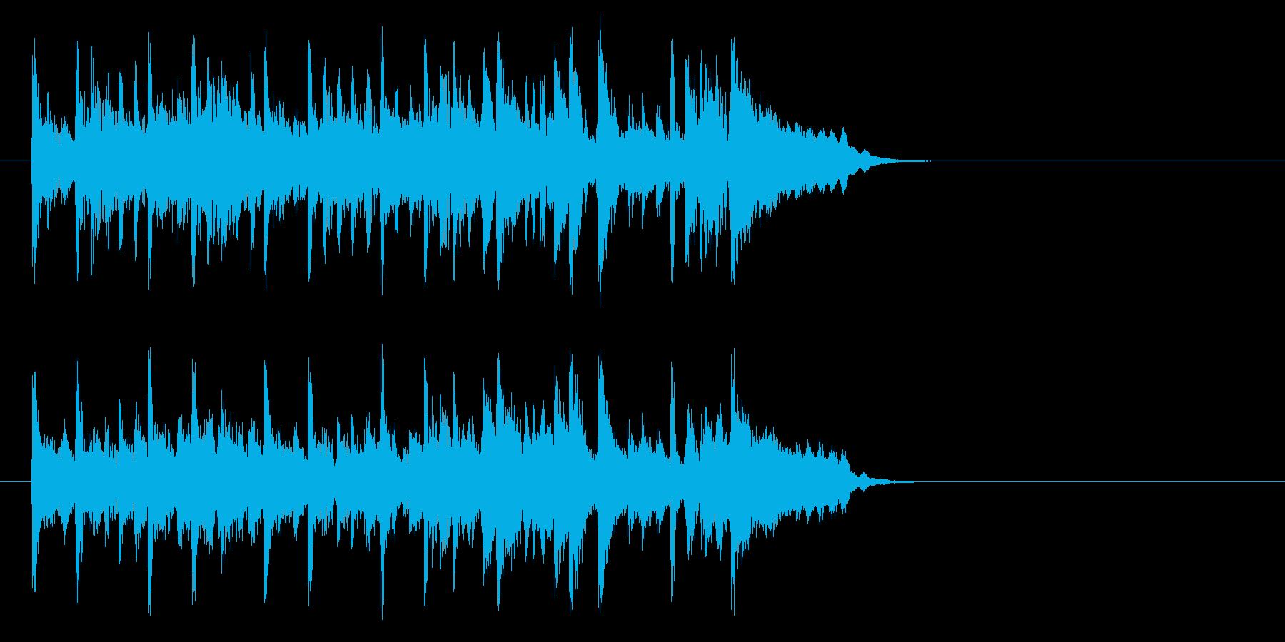 不安をはねのけるポップ(イントロ)の再生済みの波形
