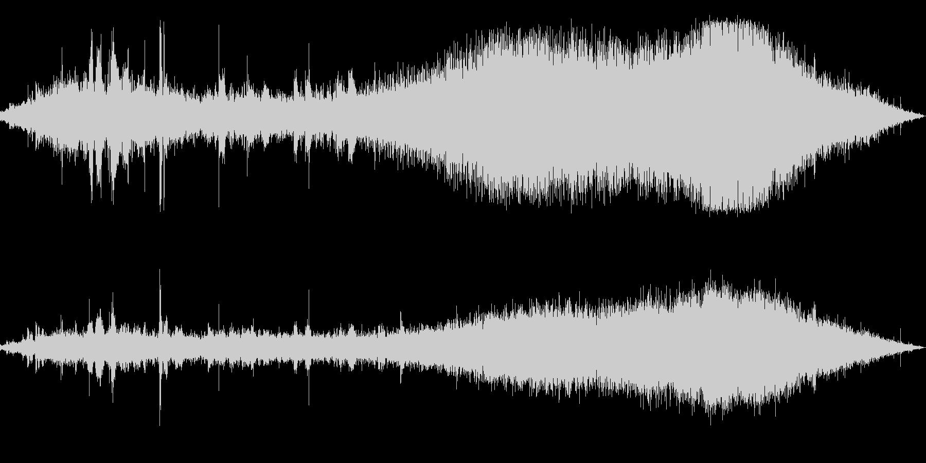 カッコウカッコウ(信号待ちの交差点)の未再生の波形
