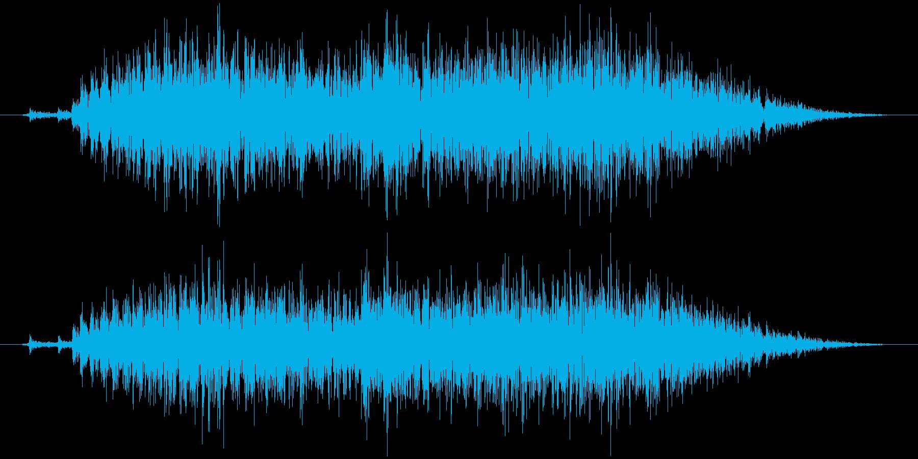 オーブントースター タイマー巻く ギギギの再生済みの波形